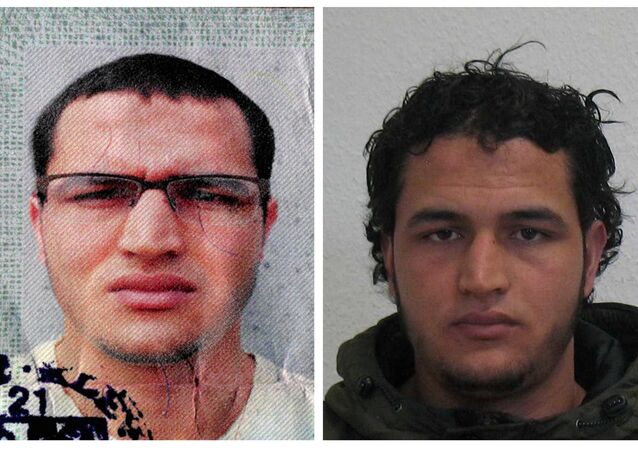 Handout pictures released on December 21, 2016 and acquired from the web site of the German Bundeskriminalamt (BKA) Federal Crime Office show suspect Anis Amri searched in relation with the Monday's truck attack on a Christmas market in Berlin