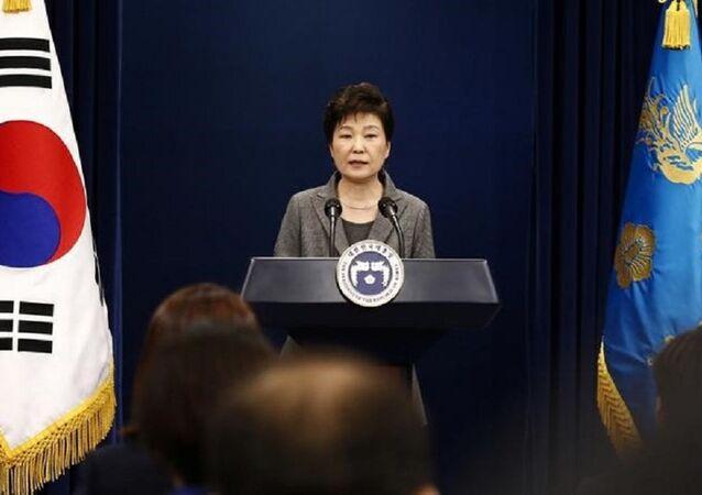 South Korean President Park Geun-hy. (File)