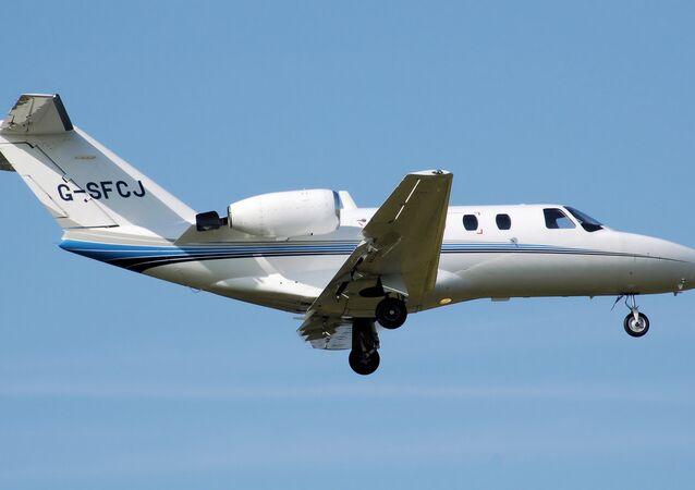 Cessna 525 CitationJet. (File)
