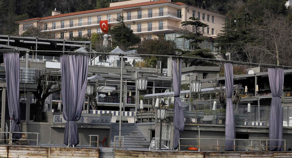 A picture shows the Reina nightclub by the Bosphorus, which was attacked by a gunman, in Istanbul, Turkey, January 1, 2017.