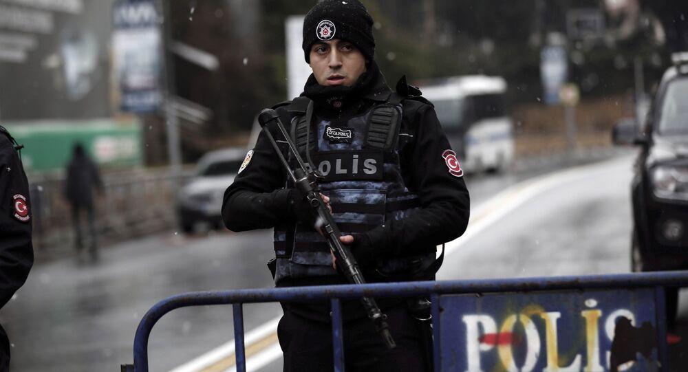 Turkish police officer. (File)