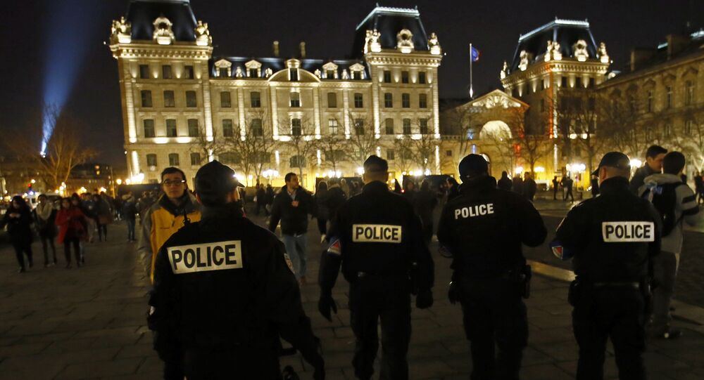 French Police officers. (File)