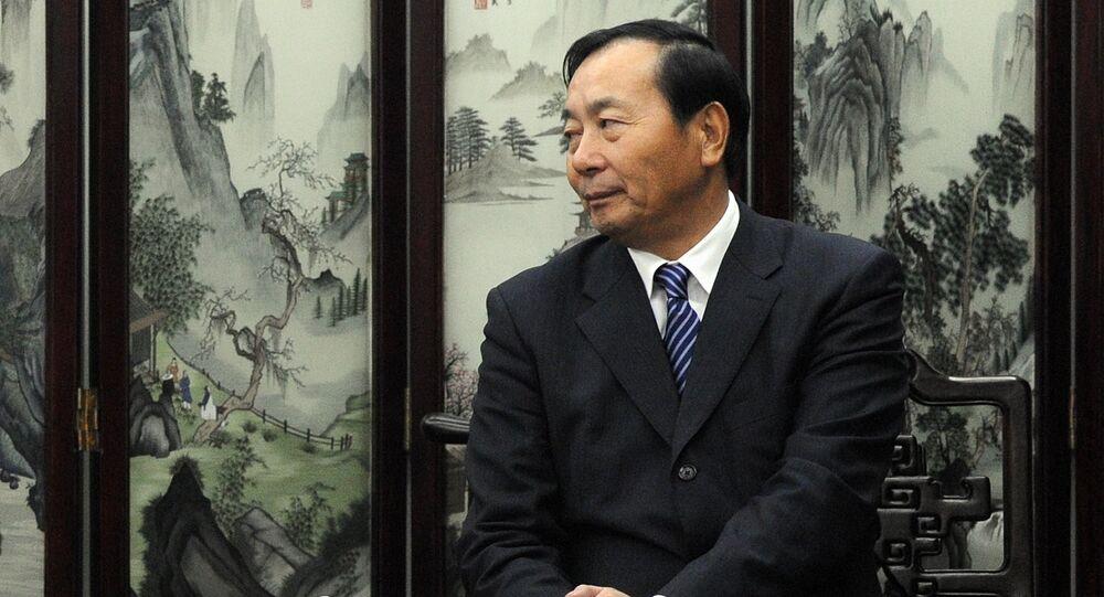 Former Civil Aviation Administration of China (CAAC) Deputy Director Xia Xinghua (File)