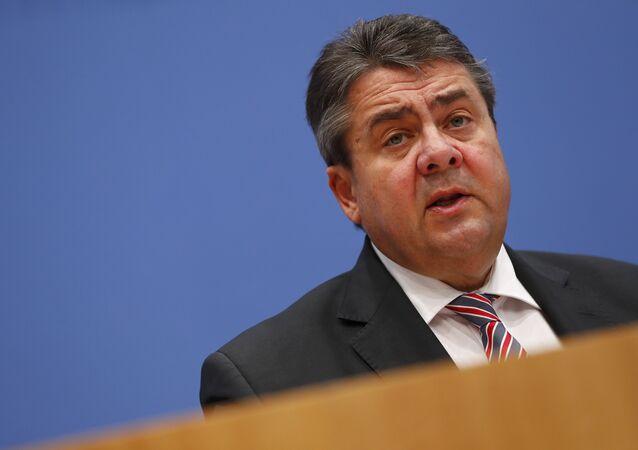German Economy Minister Sigmar Gabriel.