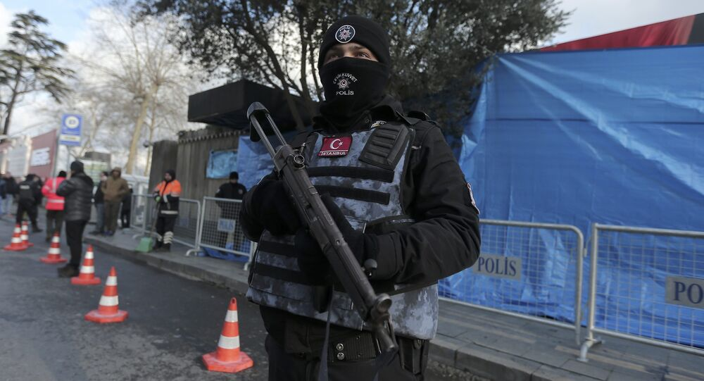 Turkish police stand guard outisde the Reina nightclub by the Bosphorus, which was attacked by a gunman, in Istanbul, Turkey, January 1, 2017