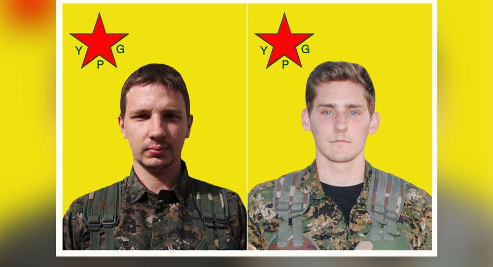 Nazzareno Antonio Tassone (Canada) & Ryan Lock (UK) lost their lives while fighting against daesh in Raqqa, Syria