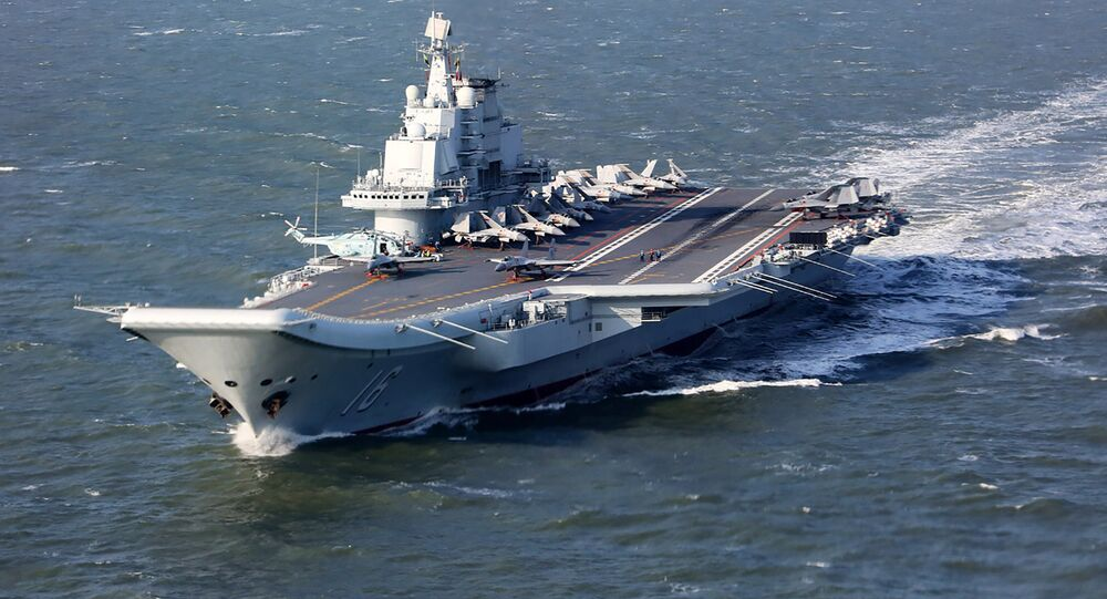 Liaoning, China's only aircraft carrier (File)
