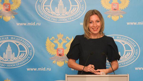 Press briefing by Russian Foreign Ministry Spokesperson Maria Zakharova - Sputnik International