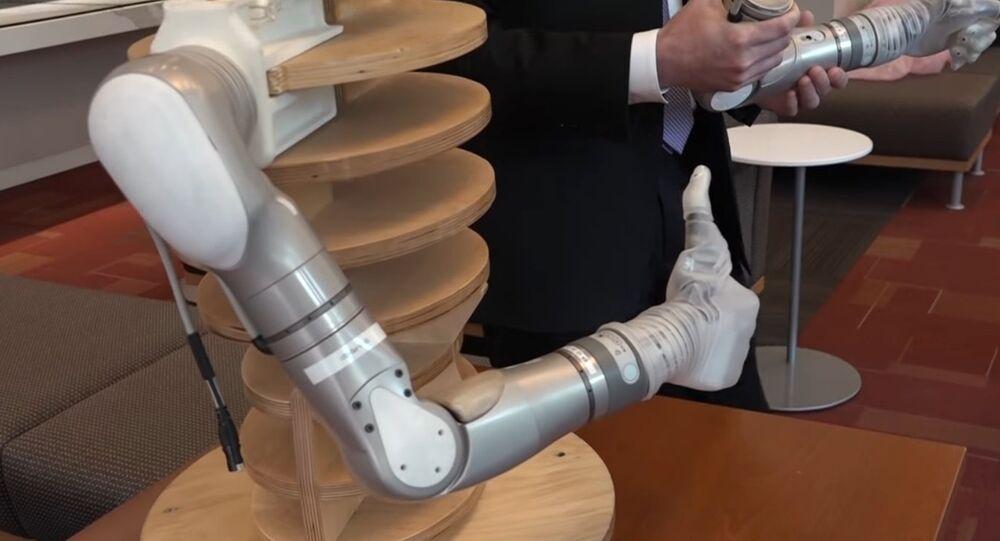 DARPA's LUKE Prosthetic Arms