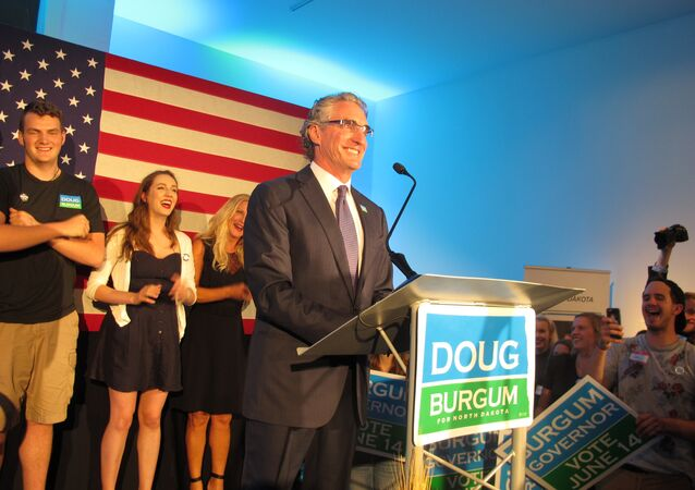 North Dakota Governor Doug Burgum
