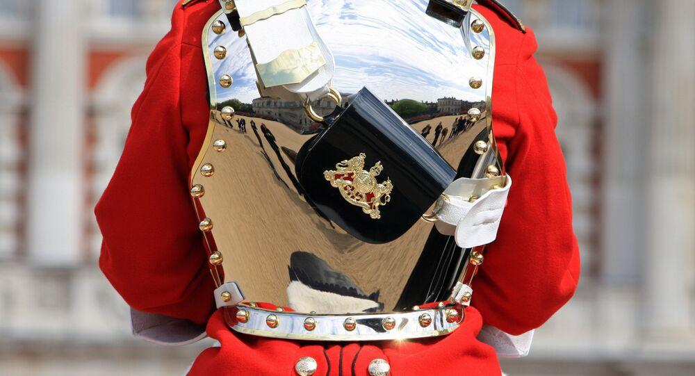 Royal guard, London