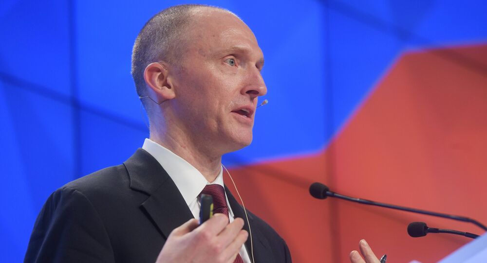 Former adviser to Donald Trump's presidential campaign Carter Page (File)