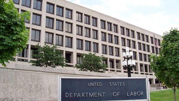 U.S. Department of Labor headquarters in Washington, D.C. - Sputnik International