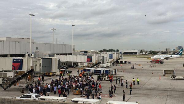 Shooting at Fort Lauderdale Airport - Sputnik International