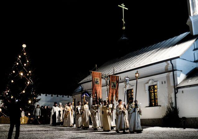 Christmas celebrations across Russia