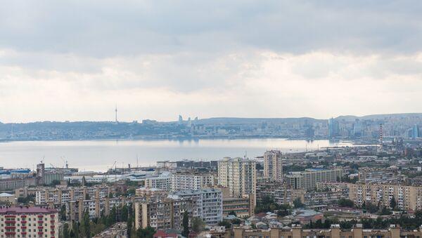 Baku Bay and the city of Baku. (File) - Sputnik International