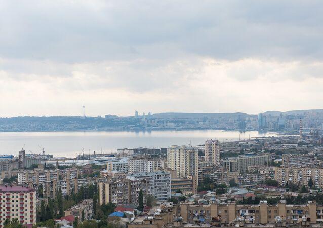 Baku Bay and the city of Baku. (File)