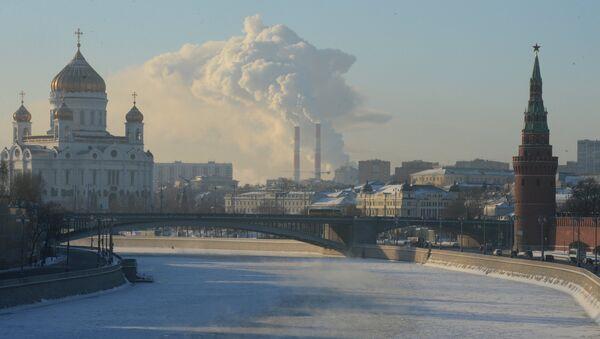 Freezing temperatures in Moscow - Sputnik International