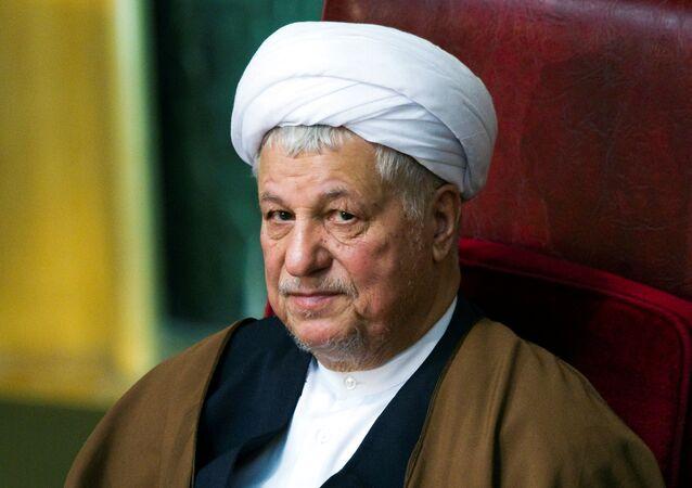Former Iranian president Akbar Hashemi Rafsanjani attends Iran's Assembly of Experts biannual meeting in Tehran. (File)