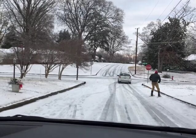 Snow day in Raleigh