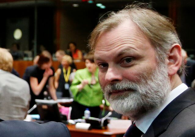 Britain's Foreign Ministry Political Director Tim Barrow is pictured during an European Union foreign ministers meeting in Brussels, Belgium, July 18, 2016. Picture taken July 18, 2016.