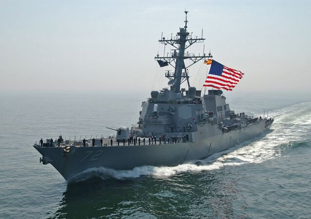 US Navy destroyer Mahan