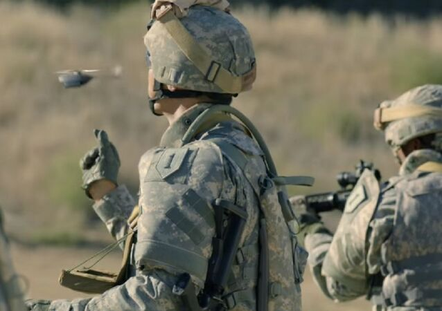US Army uses micro-drone