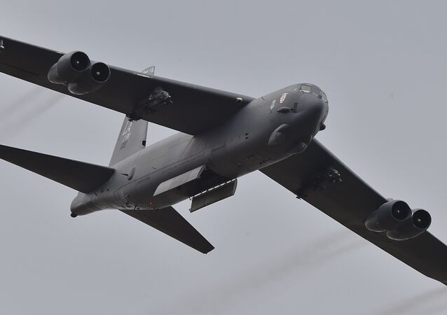 US Air Force B-52 bomber, file photo.