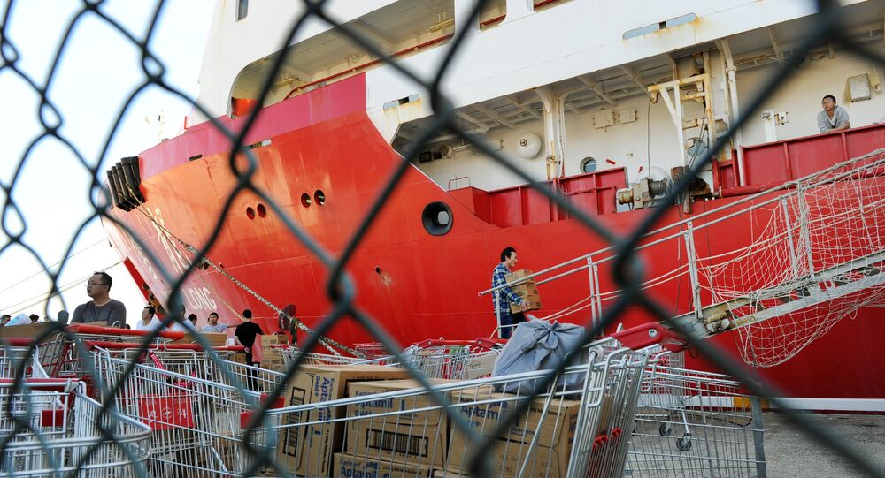 Chinese Antarctic research icebreaker Xue Long. (File)