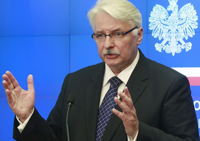 Head of the Polish Ministry of Foreign Affairs Witold Waszczykowski (File)
