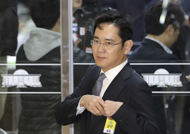 In this Tuesday, Dec, 6, 2016, file photo, Lee Jae-yong, a vice chairman of Samsung Electronics Co., arrives for a hearing at the National Assembly in Seoul, South Korea