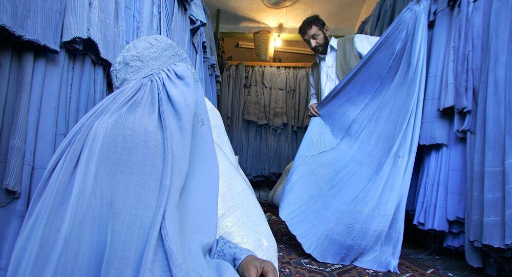 A burqa shop (photo used for illustration purpose)