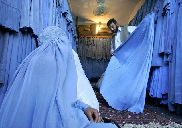 A burqa shop (photo used for illustration purpose)