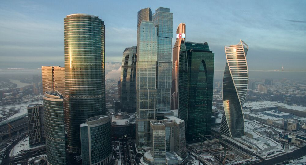 Skyscrapers of Moscow City, Moscow