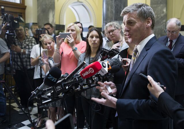 New Zealand Prime Minister Bill English (File)