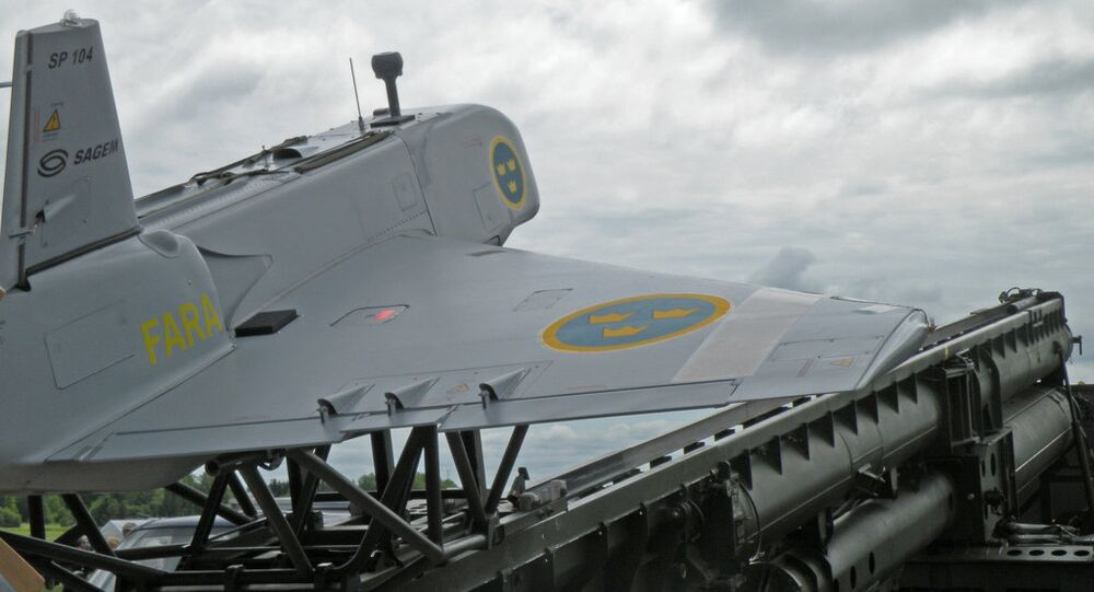 Sweden drone