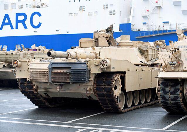 US-Panzer in Bremerhaven