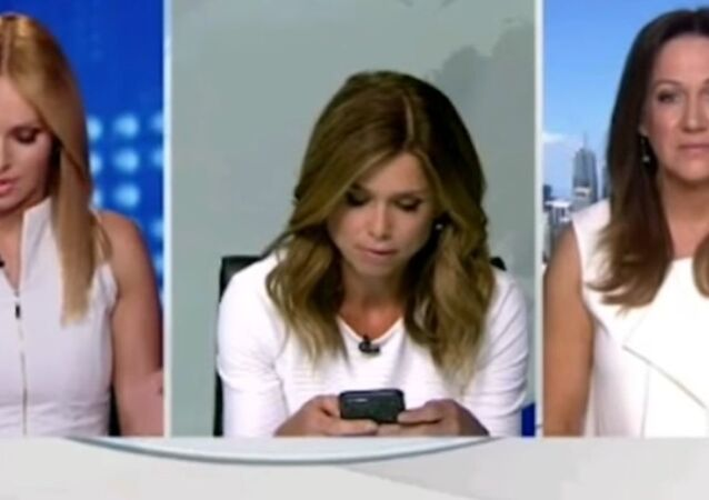 Leaked Video of Newscaster Scolding Colleague