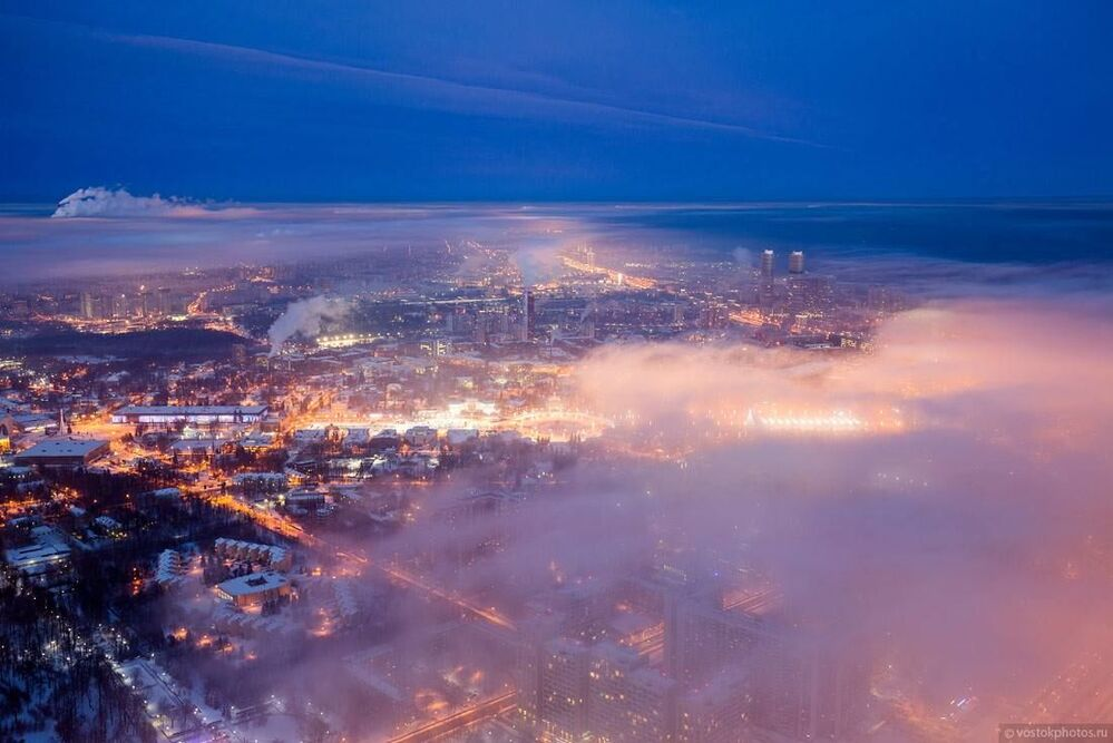 Somewhere Over the Clouds: A View of Moscow From Above