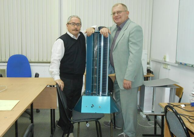 Valery Perevalov and Leonid Primak, the inventors of the new generator