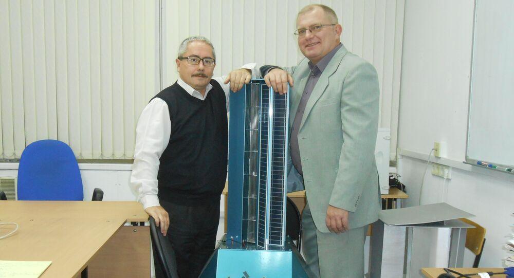 Valery Perevalov and Leonid Primak, the inventors of the new generator