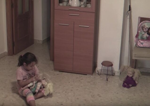 GHOST TERRIFIES Little Girl by Moving Objects