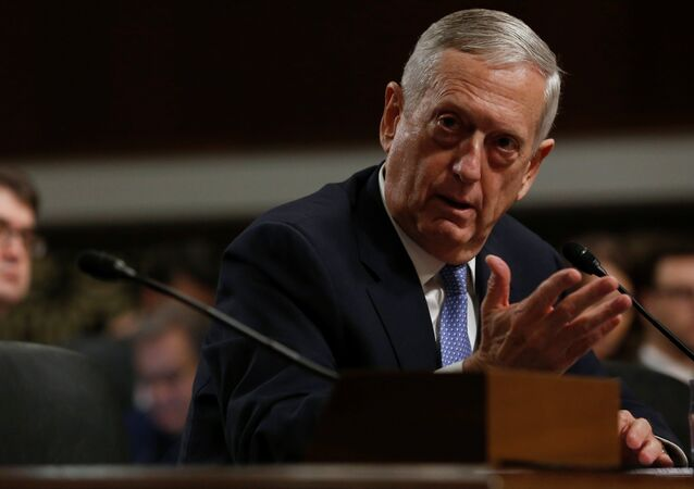 Retired U.S. Marine Corps General James Mattis testifies before a Senate Armed Services Committee hearing on his nomination to serve as defense secretary in Washington, U.S. January 12, 2017