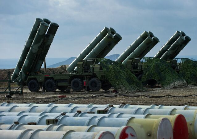 S-400 regiment enters on duty in Crimea