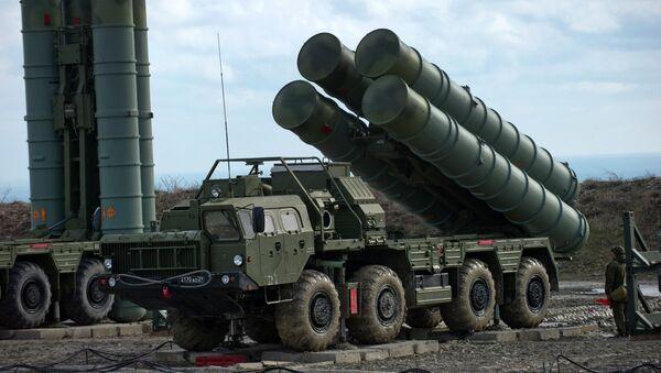 Russia's S-400 air defense system - Sputnik International