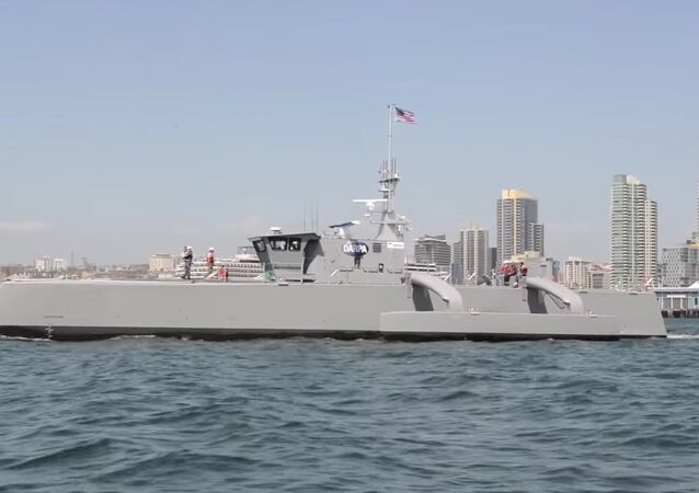 DARPA's Sea Hunter Submarine-Hunting Drone Warship ACTUV