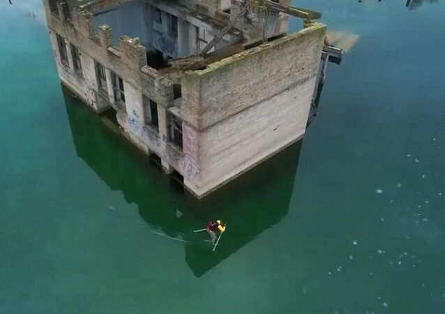 'Sick Experience': Ice Skating Above Underwater Prison