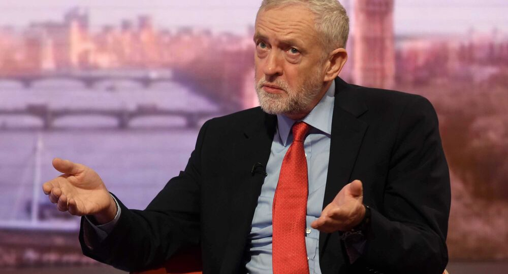 Britain's opposition Labour Party leader Jeremy Corbyn. File photo