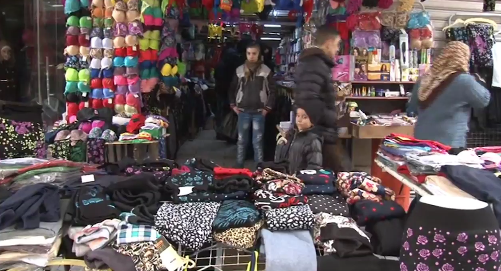 Aleppo's Famous Street Market Opens For First Time In Two Years