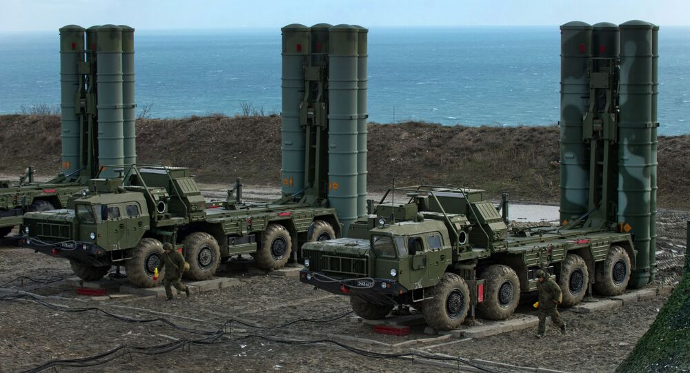 The S-400 missile system